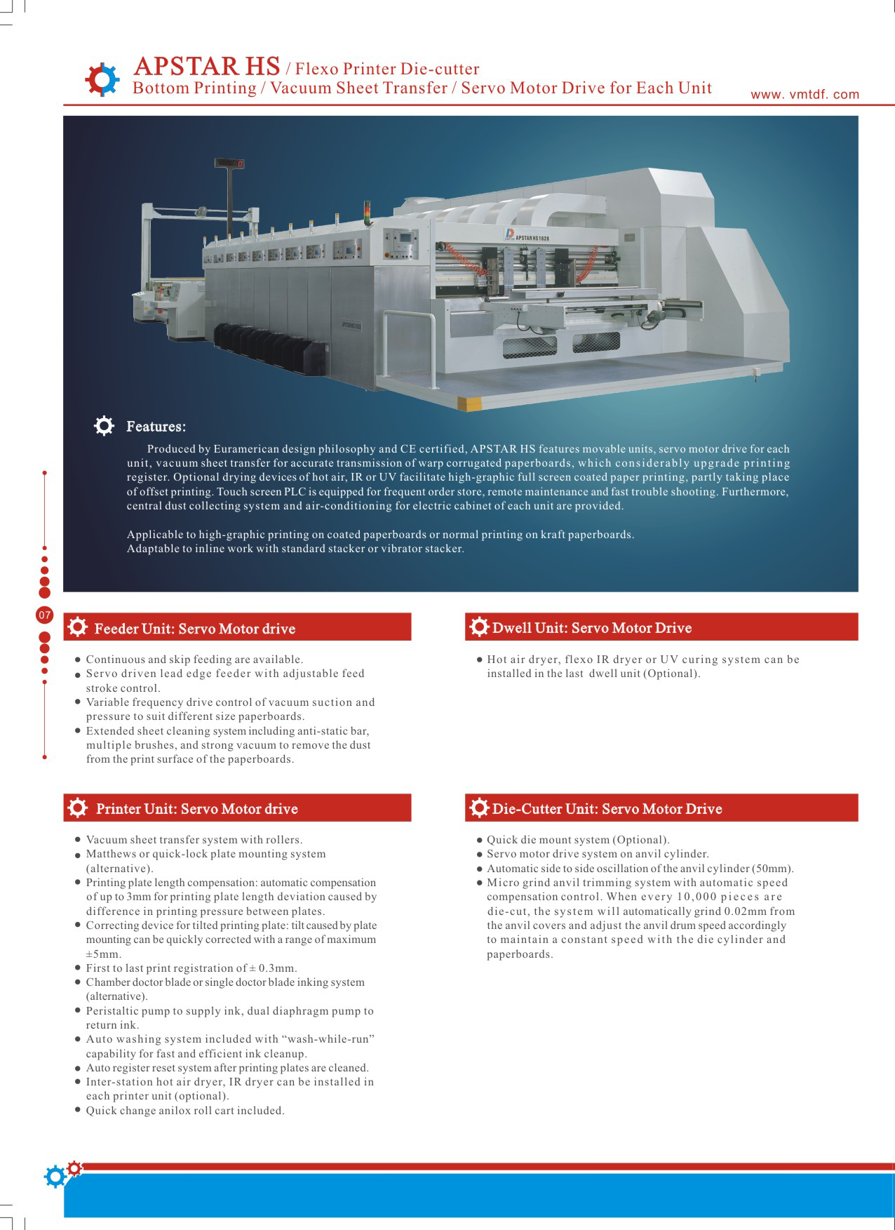 Learn more about the Apstar HS Flexo Printer Die Cutter in the Dong Fang brochure.