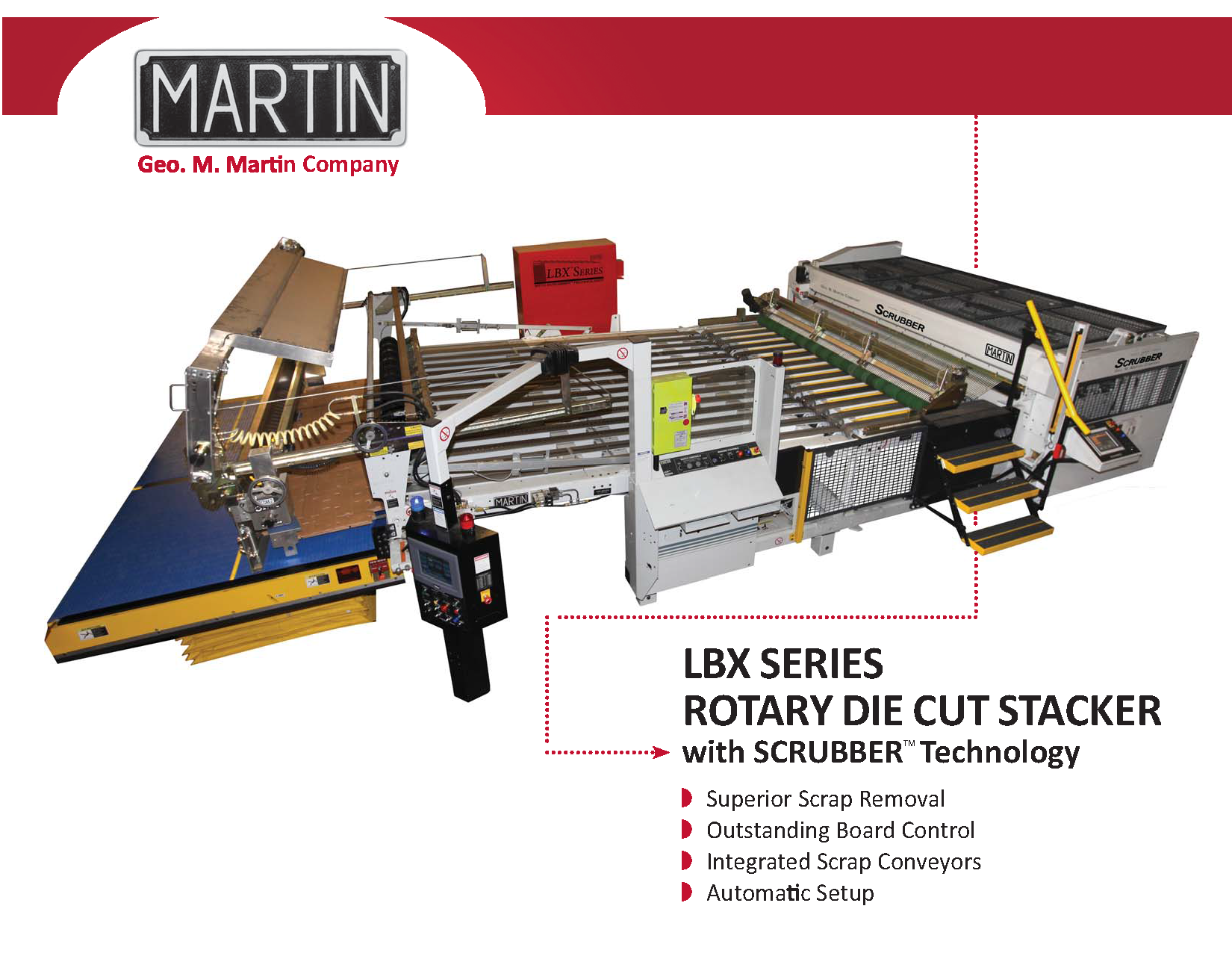 Learn more about the LBX RDC Scrubber Stacker in the Geo. M. Martin brochure!
