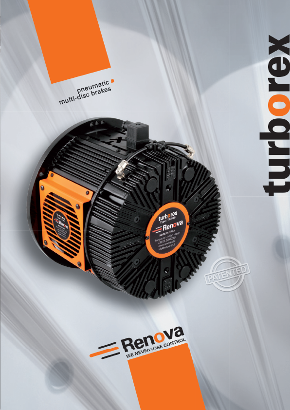 Learn more in the Renova Turborex Brake Brochure