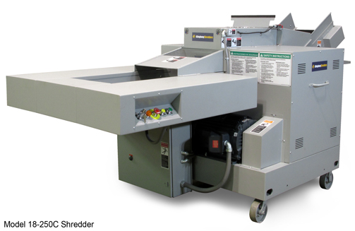 Shown is the 18-250C High Capacity Shredder