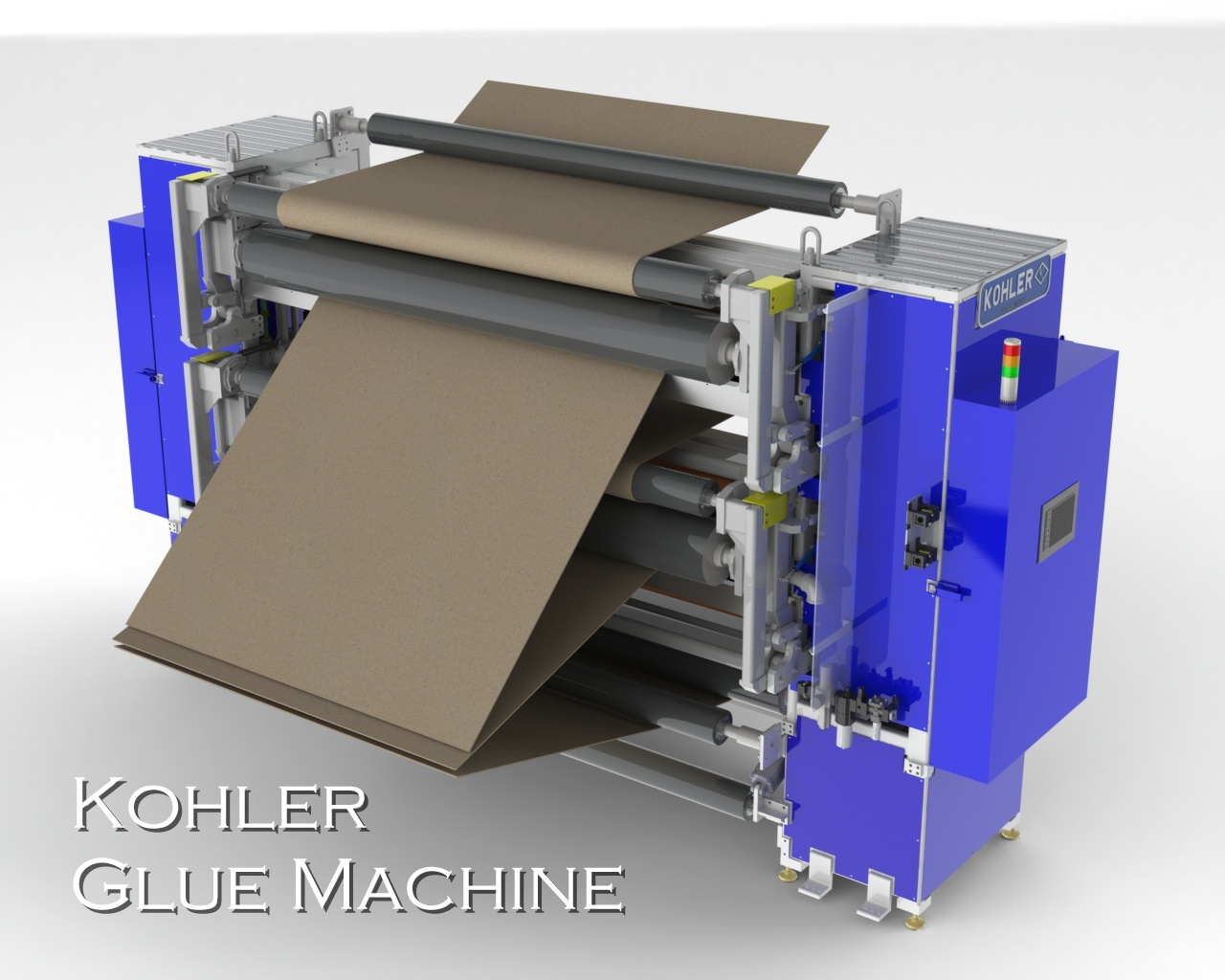 Kohler Coating Glue Machine